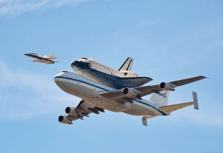 Photo wallpaper Space Shuttle Endeavour